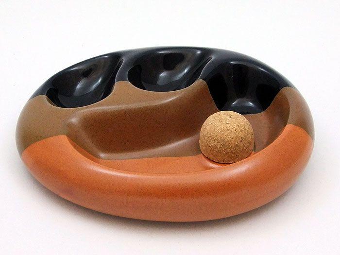 Pfeifenascher oval