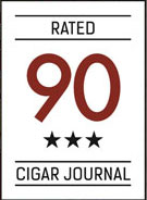 Cigar Joournal Rated 90